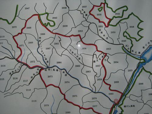 助常(馬場)林道地図