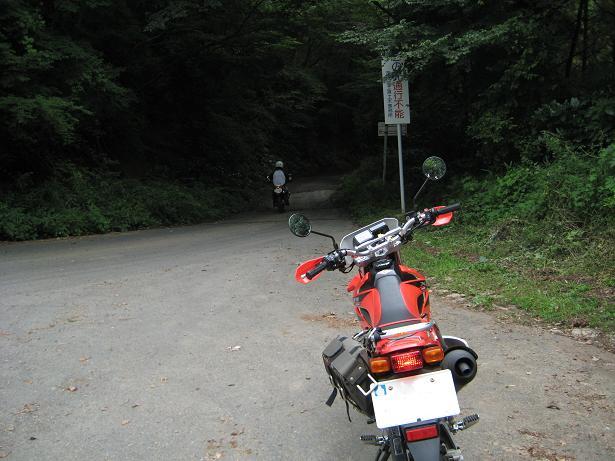 県道大塚真壁線(八郷町側)
