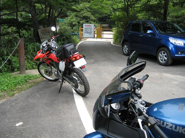 県道369号線ゲート