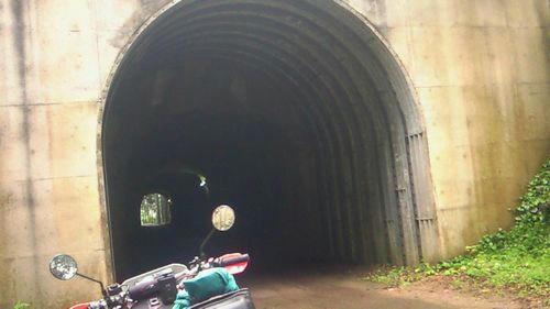 袋倉ダムへの道