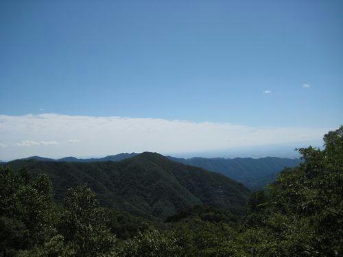 小中西山林道からの眺め