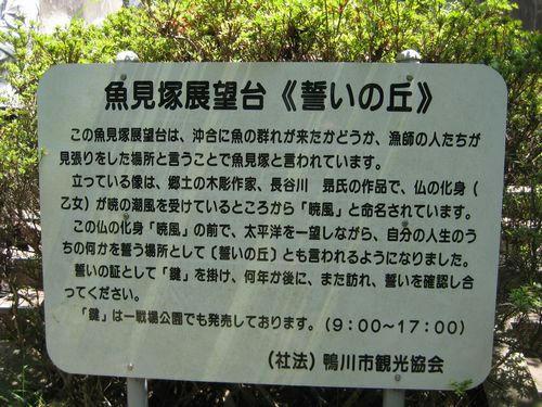 魚見塚について