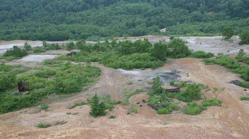 小串鉱山跡