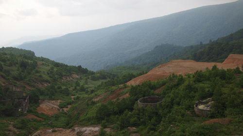 小串硫黄鉱山跡