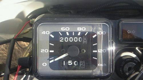 XR230メーター