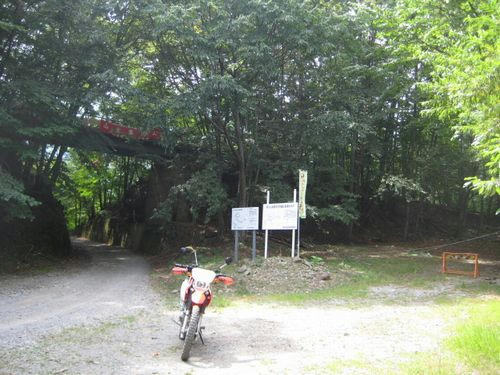 中津川林道