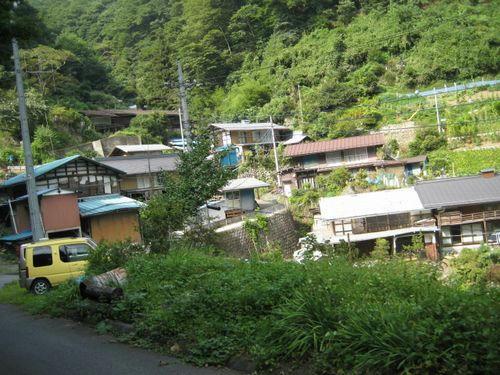 奥名郷集落