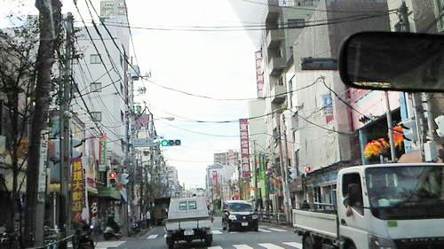 京成立石駅前