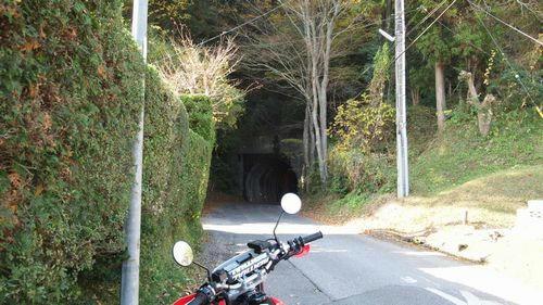 気になっていたトンネル