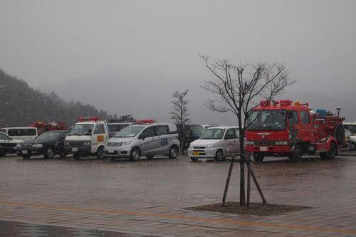 田村市は雪