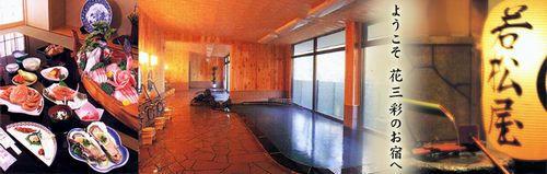 馬場の湯温泉、若松屋旅館
