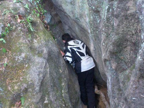 三石山にて