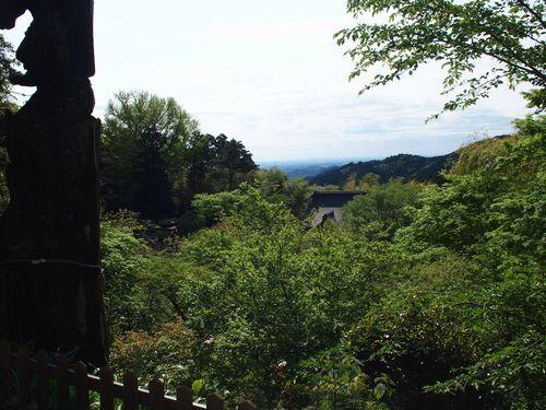 竹寺からの眺め