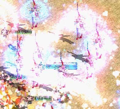 ハート花火とガルパラ