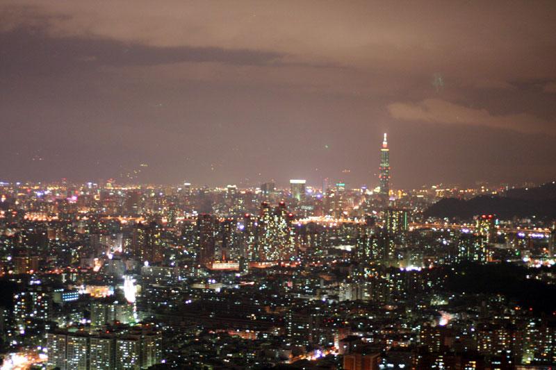 台北101+夜景