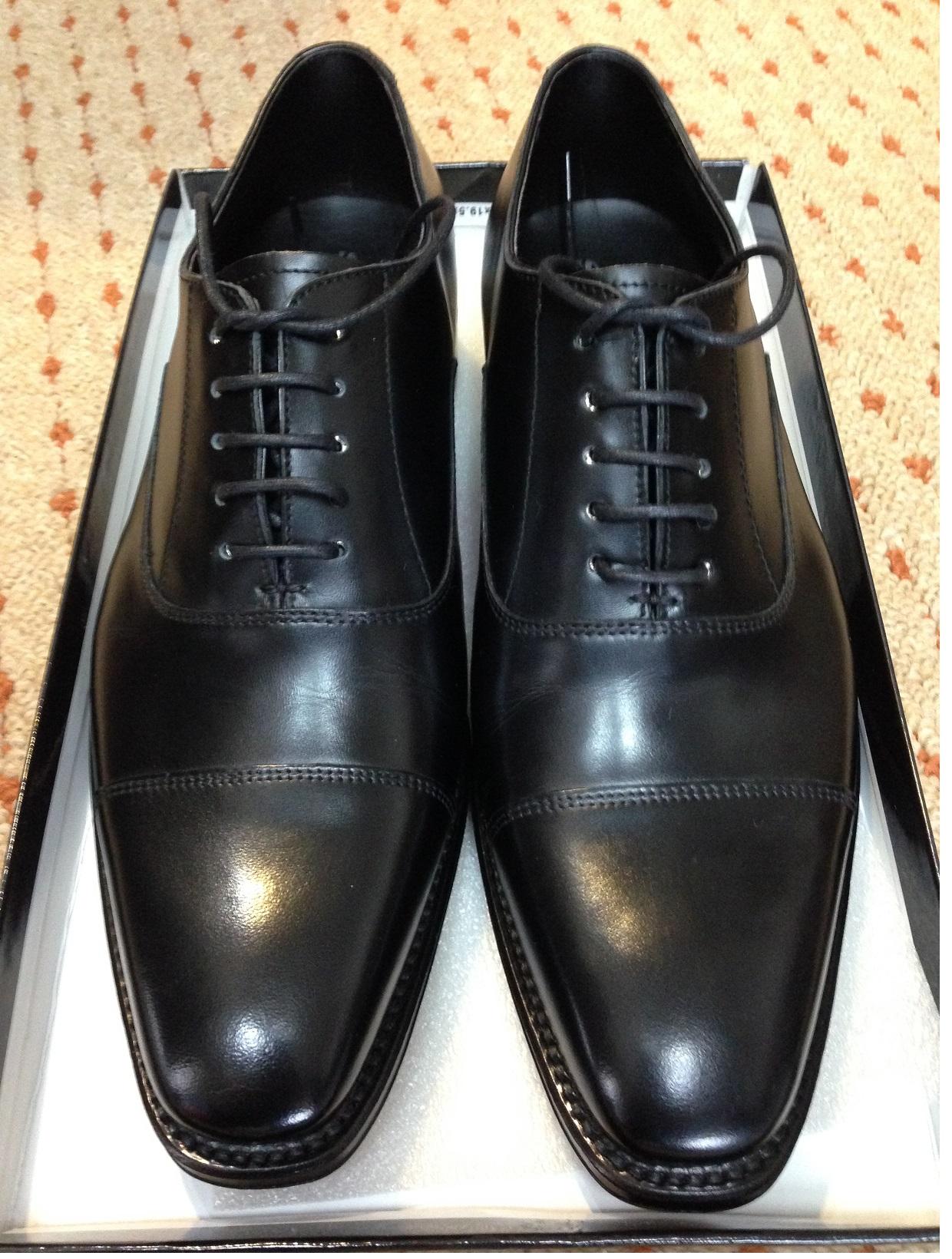 新品の革靴の手入れ方法|革靴 ...
