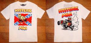 HYSTERIC星条旗半袖Tシャツ White