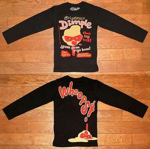 Dimple Ice長袖Tシャツ Black