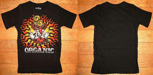 MINI&テントウムシ半袖Tシャツ Black