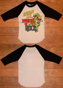 MINI&恐竜長袖Tシャツ(Baby) Black