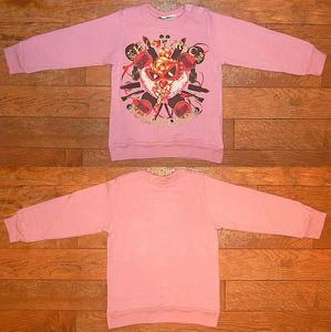 Cosmetic MINI長袖トレーナー(Baby) Pink