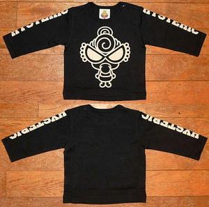MY FIRST MINI長袖Tシャツ(Baby) Black