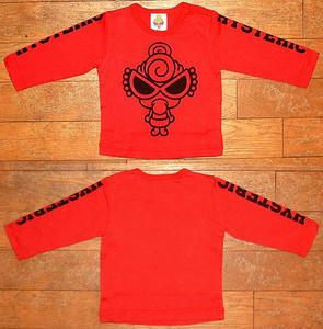 MY FIRST MINI長袖Tシャツ(Baby) Red