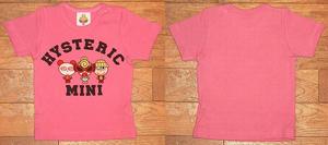 MY FIRST MINIトリオ半袖Tシャツ(Baby) Pink
