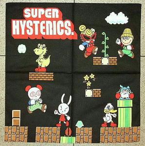 SUPER HYSTERICバンダナ Black