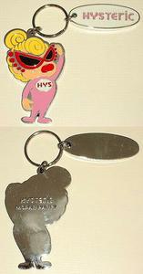 Welcome MINI & LOGOキーホルダー Pink