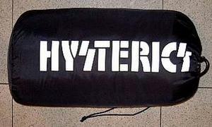 HYSTERICS ARMY毛布(収納時) Black