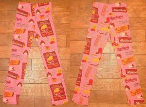 Matt munchies総柄スパッツ Pink