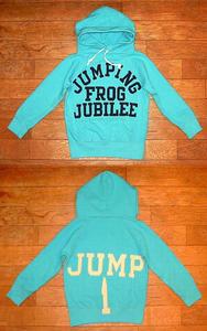 ビンテージウラケ JUMPING パーカー Blue