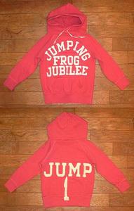 ビンテージウラケ JUMPING パーカー Pink