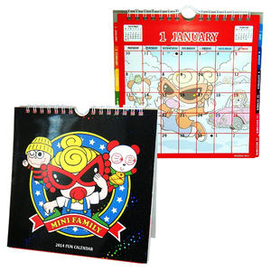 ヒステリックミニ 2014卓上カレンダー