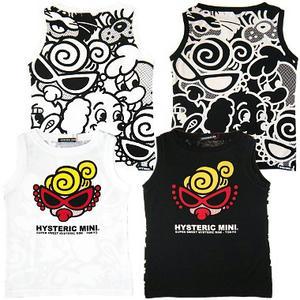 ヒステリックミニ ヒステリックパーティクラッシャーノースリーブTシャツ