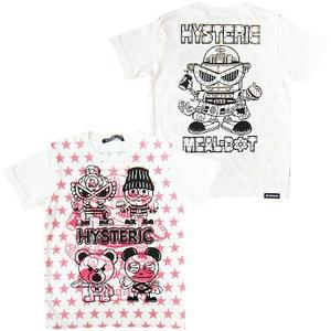 ヒステリックミニ ジャンクフードアディクションTシャツ