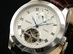 【ロベルタスカルパ】パワーリザーブ自動巻き腕時計RS6030-SVBR