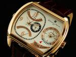 【サルバトーレマーラ】トリプルタイム腕時計SM6016-GPWH