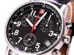 【WENGERウェンガー】コマンドクロノグラフ メンズ腕時計70825