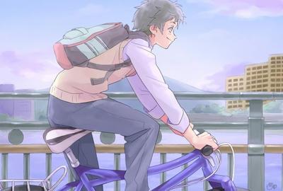 自転車 鍵 自転車 鍵 面白い : 宇佐くん描いたよ