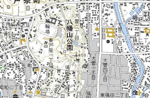 地図 三角 記号 点