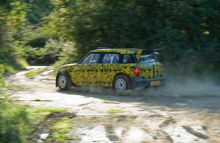 MINI WRC参戦モデル