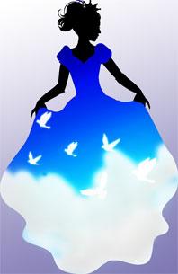 昼のドレス