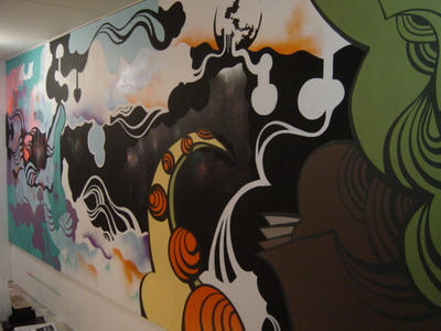 wall paint@koujimachi gallery
