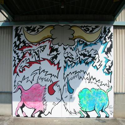 wall paint@surge