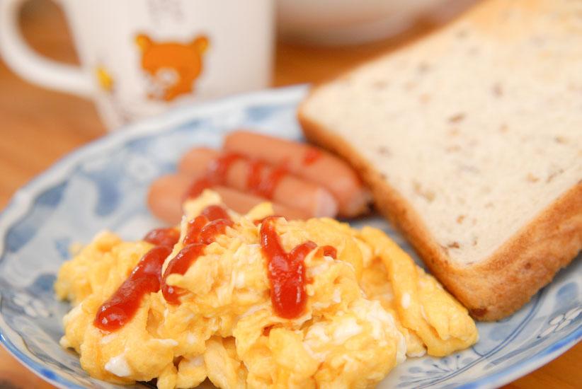 【Breakfast】_スクランブルエッグ
