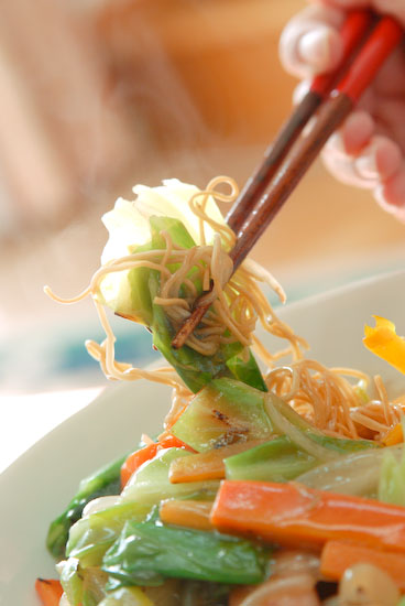 【Lunch】あるもの材料皿うどん