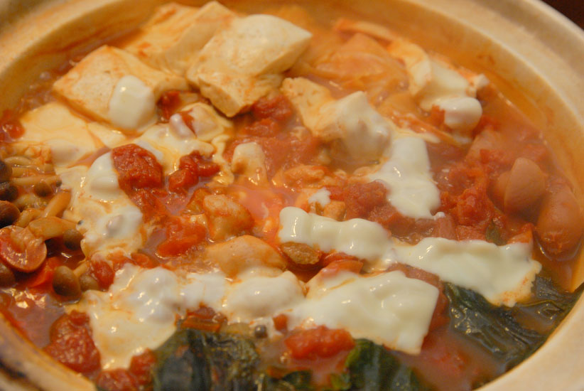 【Denner】トマト鍋