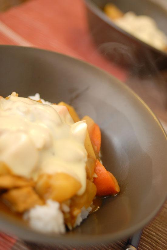 【Denner】チーズカレー(写真食堂)